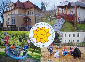 Collage mit Sonnenschein-Logo